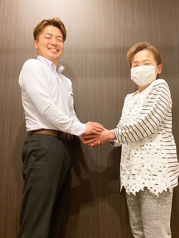 患者様と長崎先生
